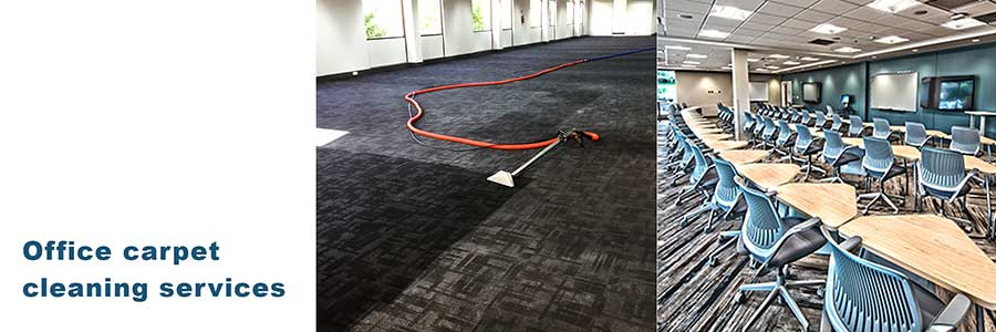 Office carpet steam cleaning services