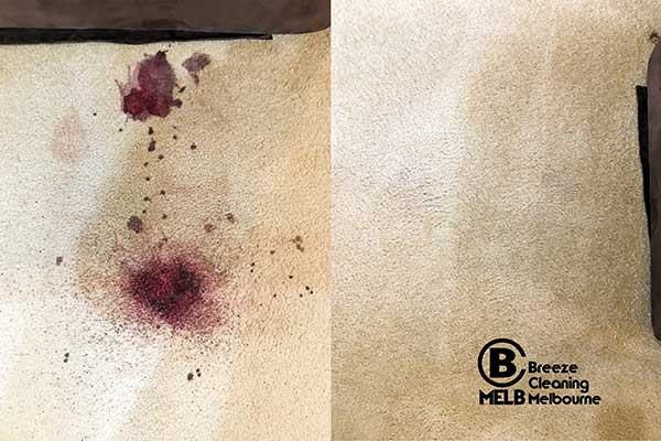 Carpet Blood Stain Cleaning